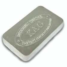 1 oz Precious Metal Content per Unit Silver Bullion Bars