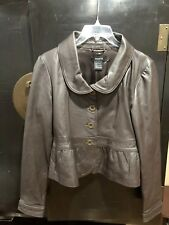 Arden B Brown 100% Lamb Leather Size Med