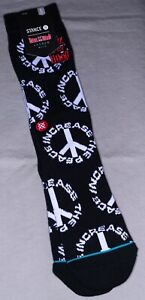 Stance x Boyz N The Hood Socks 'Increase The Peace'   L   Crew   New With Tags