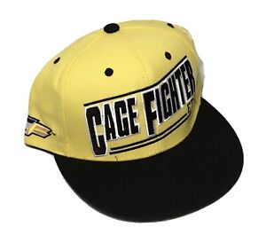 """New Cage Fighter CF UFC MMA Snapback Hat """"Embrace The Grind"""""""