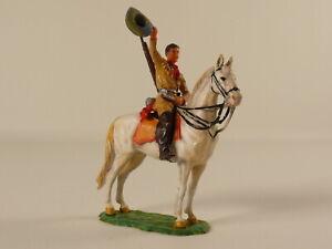 Elastolin 7 cm -  Old Shatterhand zu Pferd