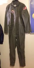 Flight Suit 40L Long Military Coveralls USA USAF Army Mens Fly