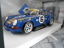 PORSCHE 911 Carrera RSR 2.8 Daytona 1973 #6 Donohue Follm Sunoco Win Solido 1:18