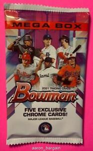 2021 Bowman Mega Box Chrome Mojo Pack Auto/Refractor/Austin Martin/Blaze Jordan?