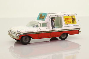 Corgi Toys 486; Chevrolet Impala Kennel Service Wagon; Playworn Unboxed