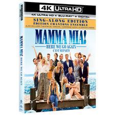 Mama Mia! Here We Go Again 4K Ultra HD + Blu Ray + Digital NEW