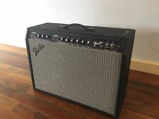 Vintage Fender 30 2x10 guitar tube amp amplifier Jensens w/footswitch pre Rivera