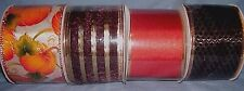 """lot of 4 bolts  2 1/2"""" fall wired ribbon"""