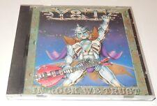 In Rock We Trust  Y&T  CD 1995  A&M Records  Japan POCM 1986 OBI