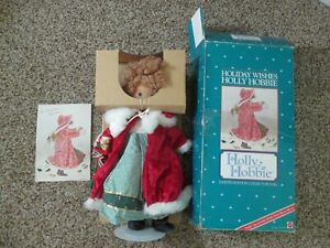 VINTAGE MATTEL HOLLY HOBBIE HOLIDAY WISHES LIMITED EDITION DOLL 1990 #5406 + BOX