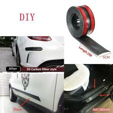 2mx5mm 3D Carbon Fiber Look Auto Car Scuff Plate Door Sill Trunk Panel Protector