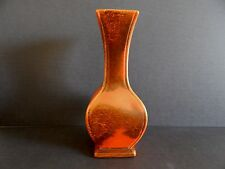 "Red Wing Pottery Vase Orange and Bay  #686 - 11"" Tall"