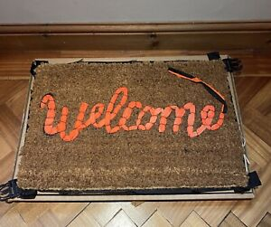 Banksy Welcome Mat X Gross Domestic Product X Love Welcomes
