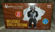 Morphcostumes Inflatable GORILLA Costume Adult 2 Piece Set (Style #6675) NIB