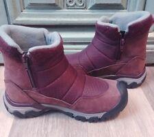 Keen Women's Hoodoo III Low Zip Waterproof Boots Wine sz 6 NEW