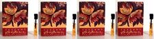4 X Tuscany Per Donna By Estee Lauder Women Sample Vial 0.03 1 ml On Card