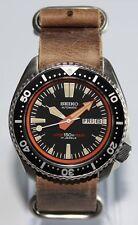 Premium SEIKO 6309-7290 Vintage Dive Watch Custom Patina Dial Automatic