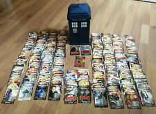 Doctor Dr Who Battles in Time Job Lot 229 Cards in Large Tardis + Psychic Paper