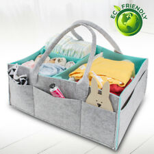 Baby Diaper Caddy Organizer Nursery Storage Bin for Diapers Baby Wipes Kid Toys