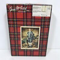 Vintage Hummel Needlepoint Kit Wool Boy Fishin Schmid Brothers Sister Berta 1974
