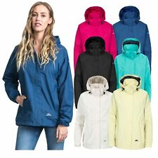 Trespass Womens Waterproof Hooded Jacket Outdoor Cycling Raincoat