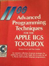 advanced programming techniques for the apple iigs toolbox  morgan davis Dan