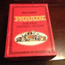 THE WALT DISNEY PARADE Box Set Fantasy Adventures Fun Great Moments 1970 VGC L1