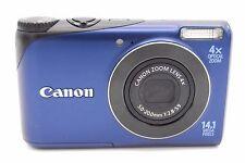 Canon Powershot A2200 14MP 6.9CM écran 4x appareil photo numérique Bleu ( No