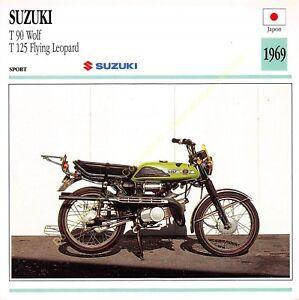 Stecker Foto Moto Japan Japan Suzuki T 90 Wolf T125 1969 Edito Service
