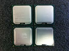 (Lot of 4) Intel Core 2 Quad Q6600 2.40GHz CPU Processors SLACR LGA775 CPU5047