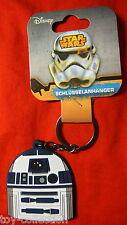 R2-D2 Droid - Star Wars Episode VII - Gummi Schlüsselanhänger / rubber keychain