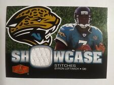 2006 Flair Showcase Byron Leftwich Jacksonville Jaguars Marshall - Jersey