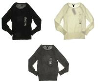 Kenneth Cole Women's Boat Neck Long Sleeve Pullover Sweater - Select size/color