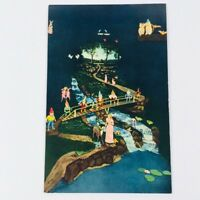 Vintage Fairyland Caverns Snow White Rock City Lookout Mountain Disney Postcard