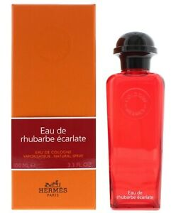 Hermes Eau de Rhubarbe Ecarlate 100ml Cologne Authentic Perfume Men & Women