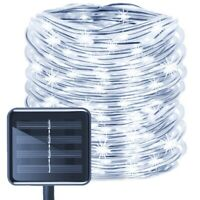 100/200 LED WATERPROOF STAKE LAMP SOLAR POWERED LIGHTS XMAS GARDEN DECOR STRICT