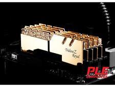 G.Skill 16GB (2x8GB) DDR4 Trident Z Royal Gold RGB C16 3200Mhz[F4-3200C16D-16..
