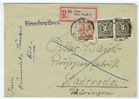 All.Bes./Gemeinsch.Ausg.Mi. 928(2), 951, R-Zons über Neuß 2, 5.4.48, AKS Stadtro