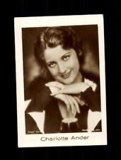 Charlotte Ander Mercedes Zigarettenbild  ## BC 129143