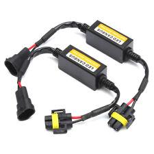 2*DC 9-36V H11 LED Headlight Anti Flicker Error Resistor Canceller Decoder Best