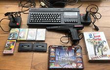 Sinclair ZX Spectrum +2 128k Plus 2 Controllers / 1 Gun And 9 Games