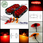 Submersible LED Trailer Light kit, Stop Turn Tail, Utility, RV, camper Surface