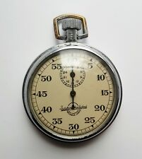1949 Old Vintage Rare Soviet Russian USSR  Stopwatch Agat mechanical