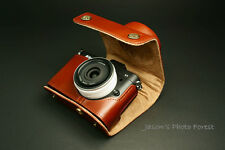 Handmade Vintage Full Real Leather Camera Case for Nikon V1(For 10mm/f2.8 Lens)
