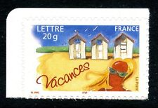 STAMP / TIMBRE FRANCE NEUF N° 3788 ** TIMBRE VACANCES / PLAGE / ISSUS DE CARNET