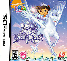 Dora the Explorer Saves the Snow Princess (Nintendo DS) Lite Dsi xl 2ds 3ds xl