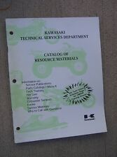 1998 - 1999 Kawasaki Motorcycle Atv Mule Jet Ski Micro-K Resource Catalog L