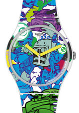 """SWATCH NEW GENT SPECIAL """"WALL PAINT"""" (SUOW133) NEUWARE"""