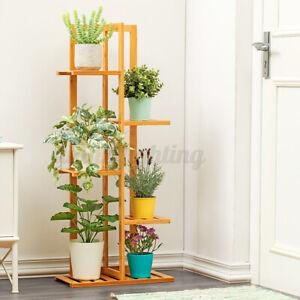 5Tier Plant Flower Stand Ladder Rack Storage Display Shelf Indoor Outdoor Garden