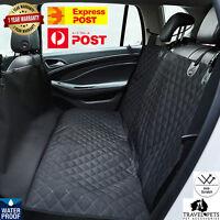 Premium Dog Car Backseat Cover Hammock Protection Waterproof Scratch Proof Fun